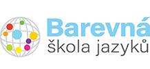 BAREVNÁ ŠKOLA JAZYKŮ Logo